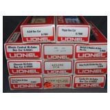 11 Lionel MPC Boxcars
