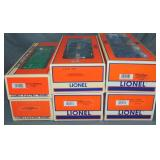 6 Lionel Standard O Freight Cars