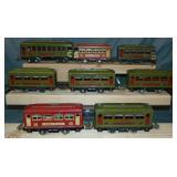 8 Lionel Prewar Passenger Cars