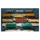 12 Prewar Lionel Freight Cars
