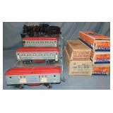 Boxed 1934 Lionel Steam Passenger Set