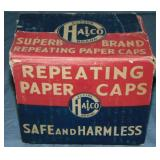 Halco Repeating Paper Caps Case.
