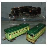 4Pc Lionel 259E Passenger Set
