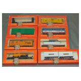 8 Boxed Early Lionel HO Freight Cars