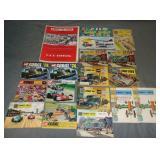 17 Vintage Corgi Catalogs, Plus