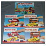 17 Early Matchbox Catalogs