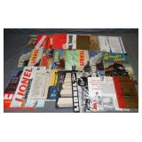Scarce Lionel Postwar Catalogs