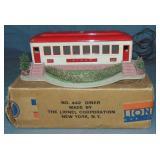 Super Boxed Lionel 442 Landscaped Diner