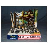 Revell Store Display. Combat Team.