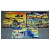 Aurora Famous Fighters Model Kits.