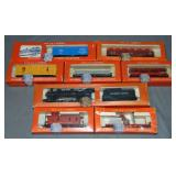 8pc Boxed Lionel HO Steam Freight Set