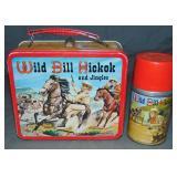 Clean Wild Bill Hickok Tin Lunch Box