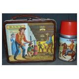 Clean The Rifleman Tin Lunch Box