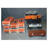 7Pc Boxed Lionel Trains