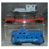 Clean Late Lionel Freight Cars, 1 Scarce