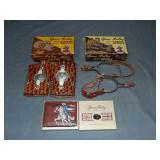 3 Boxed Gene Autry Western Toys