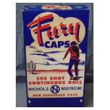 Mint Nichols Fury Caps Store Display Box