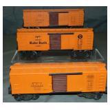 3 Unusual Lionel 6454 Boxcars