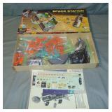Revell 1959 H-1805 Space Station Model Kit, Boxed
