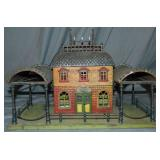 Early Carette Double-Side Canopy Station