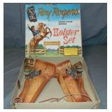 1956 Boxed Roy Rogers Holster Set