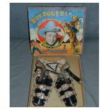 Boxed Roy Rogers & Trigger Official Holster Set