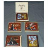 Vintage Gene Autry Wallets, Lot of 5 Some Boxed