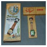 Roy Rogers & Dale Evans Wrist Watches in Orig Box