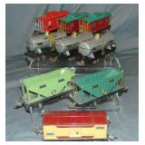 9 Assorted Lionel Freight Cars