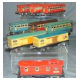 9 Assorted Lionel Jr. Rolling Stock
