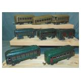 8 Early Lionel Passenger Cars