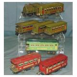 Assorted Prewar Lionel Trains