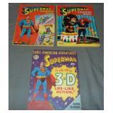 Superman 3D Comic & Coloring Books