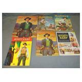 Wyatt Earp Coloring Book Lot
