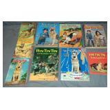 Rin Tin Tin Books & Coloring Books Lot