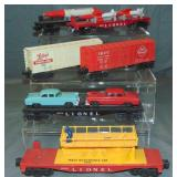 6 Clean Lionel Freight Cars