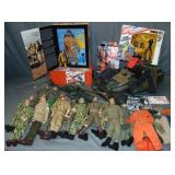 Vintage G.I. Joe Action Figures & Accessories Lot