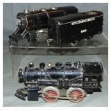 American Flyer 401 & 16 Steam Locos