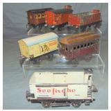 6 Marklin Freight Cars