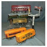 10Pc Ives Trains Lot