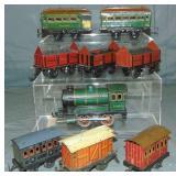 9Pc Bing Trains Lot
