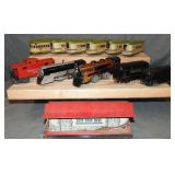 Assorted American Trains Lot