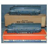 Boxed Lionel 2354 NYC F3 AA Diesels