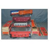 5 Boxed Lionel Freight Cars
