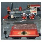 MTH RailKing 4-4-0 General Steam Engine 30-1229-1