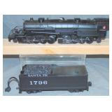 MTH RailKing 30-1665-1 AT&SF Y6b Mallet