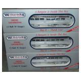 Williams 3-unit PRR Budd Car Set