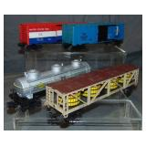 4 Late Lionel Freight Cars