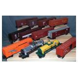 12 Assoretd Modern Freight Cars
