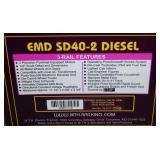 MTH 20-2217-1 BN SD40-2 Diesel